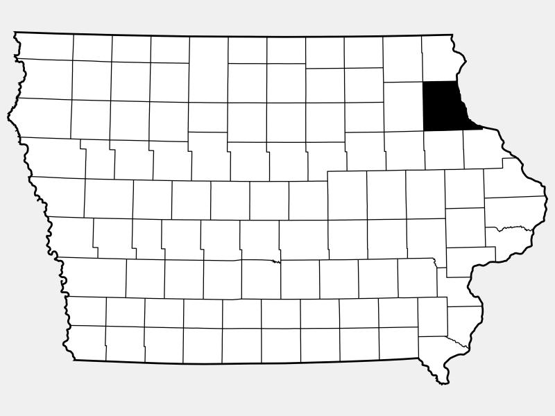 Clayton County locator map