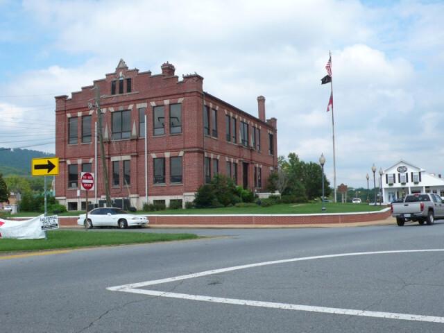 Dade County Courthouse in Trenton  Georgia  USA image