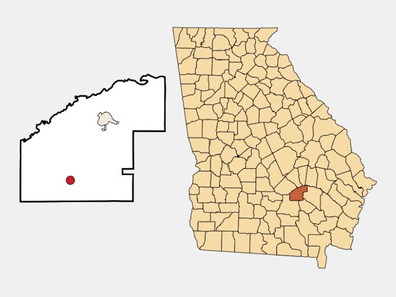 Denton locator map