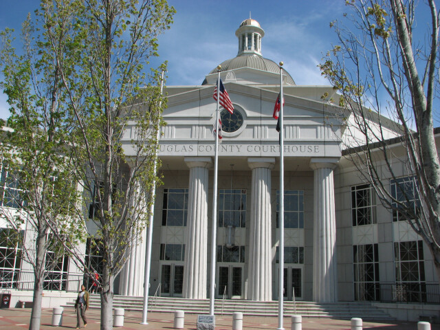 USA-Georgia-Douglasville County Courthouse image