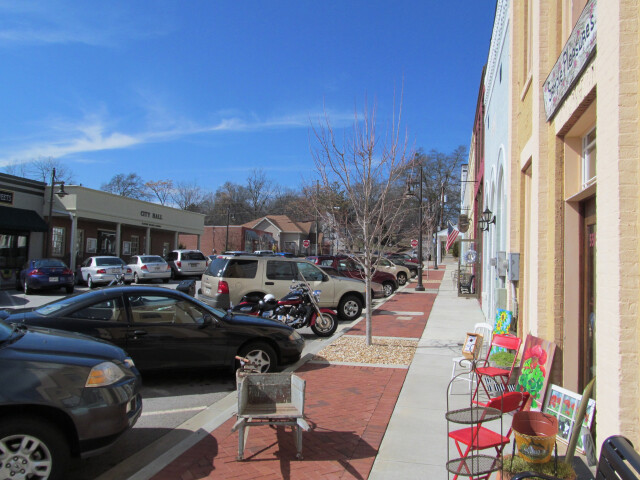 Main Street  Flowery Branch GA image