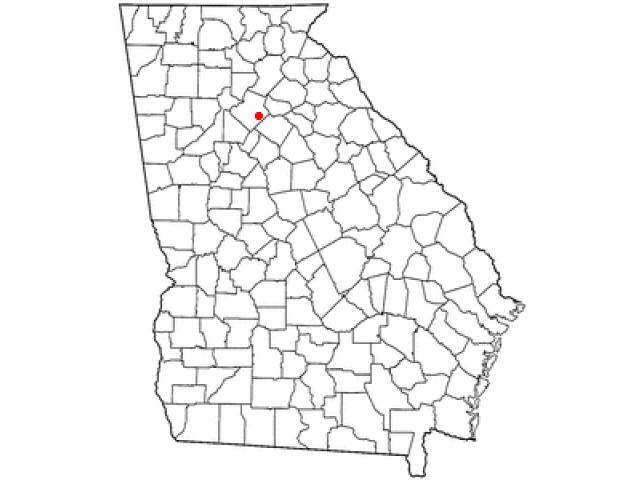 Grayson locator map