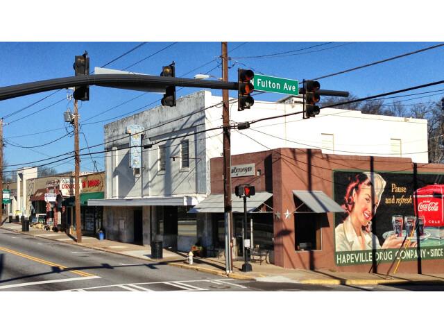 Downtown Hapeville  Georgia image