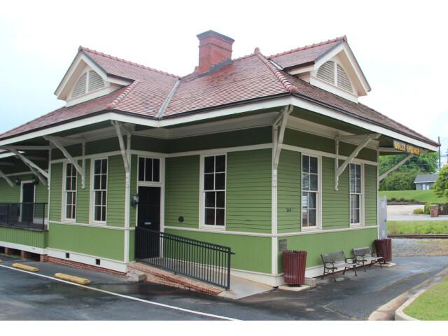 Holly Springs  Georgia train depot image