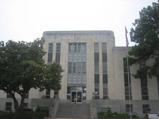 Houston County Courthouse in Crockett  TX IMG 1003 image