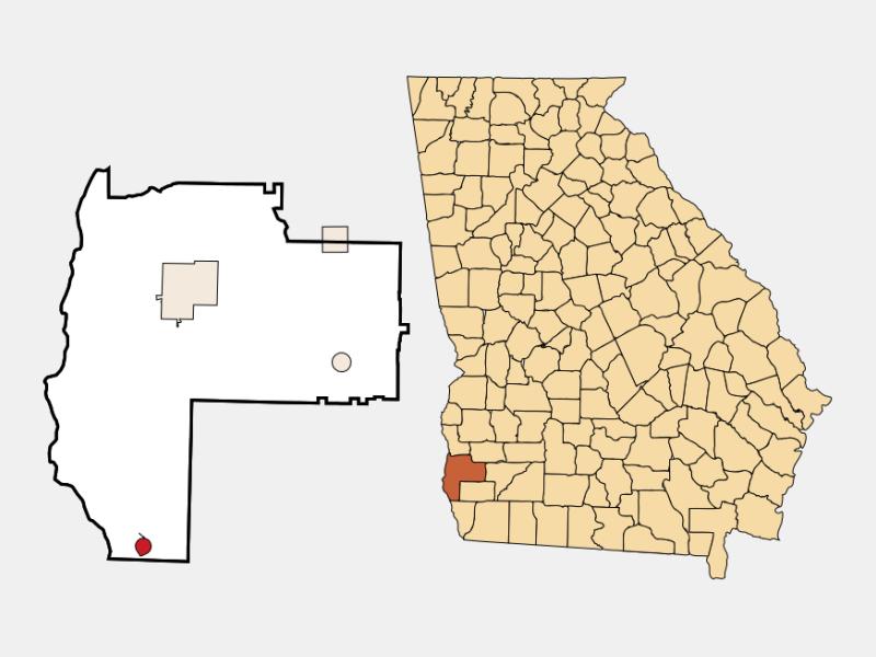 Jakin location map