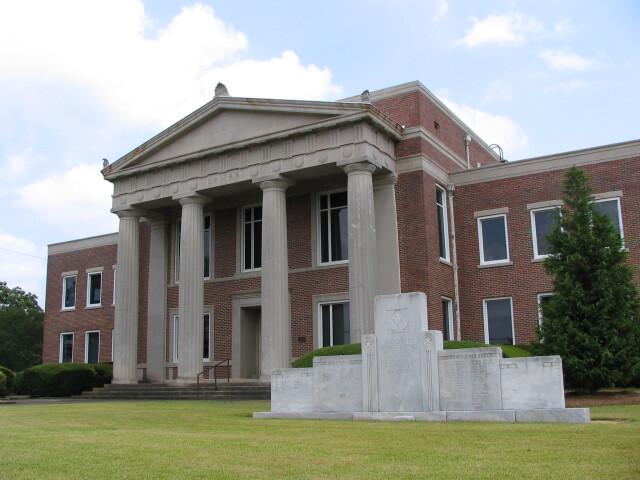 Lamar County Georgia Courthouse image