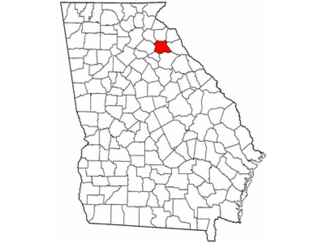 Madison County locator map