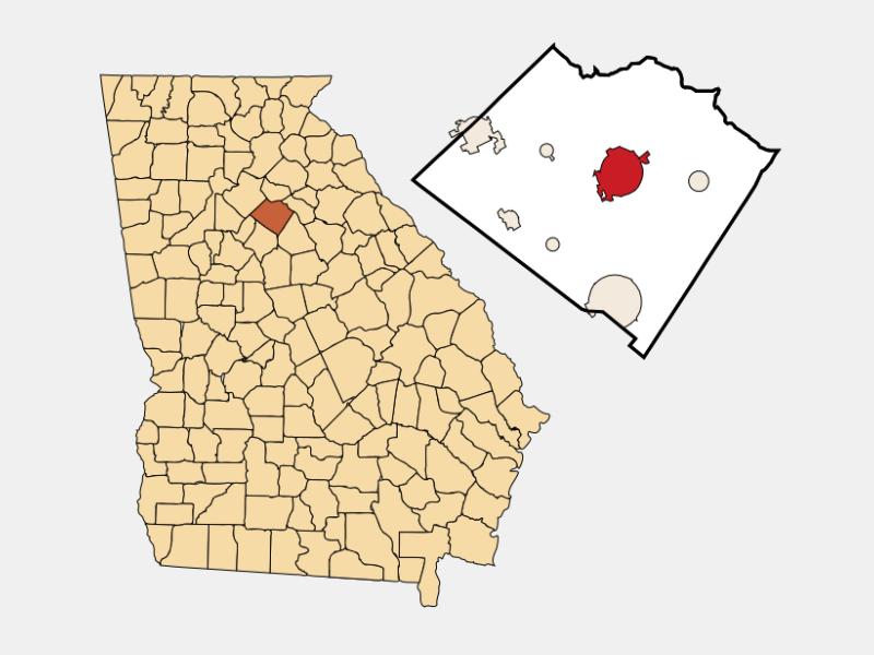 Monroe location map