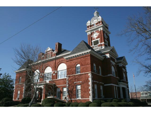 Monroe County Georgia Courthosue image