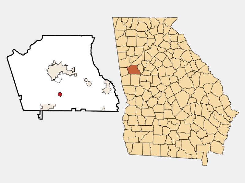 Moreland location map