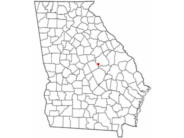 Oconee locator map