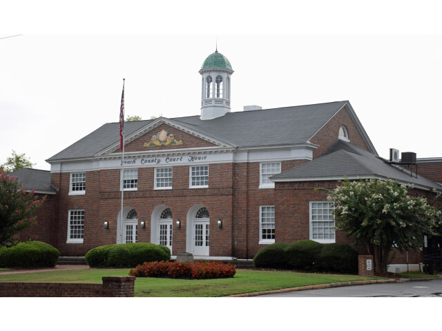 Peach County Courthouse  Fort Valley  GA  US image