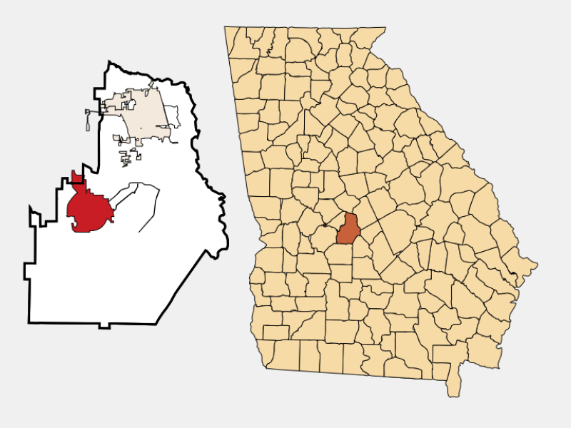 Perry locator map