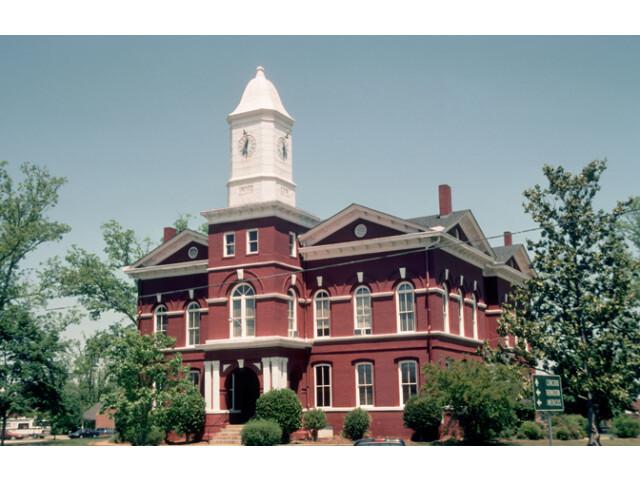 Pike County Georgia Courthouse image