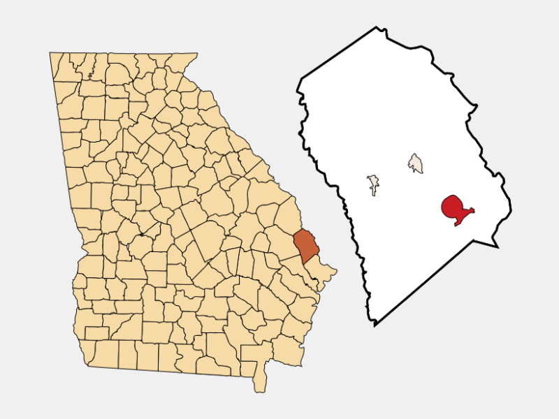 Rincon locator map