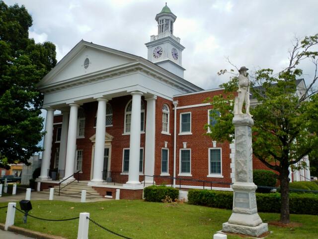 Taylor County  GA Courthouse image