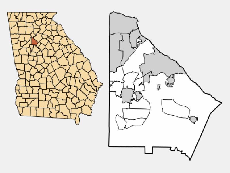 Tucker locator map