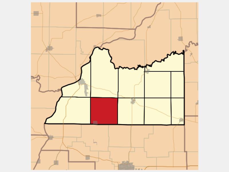 Arenzville location map