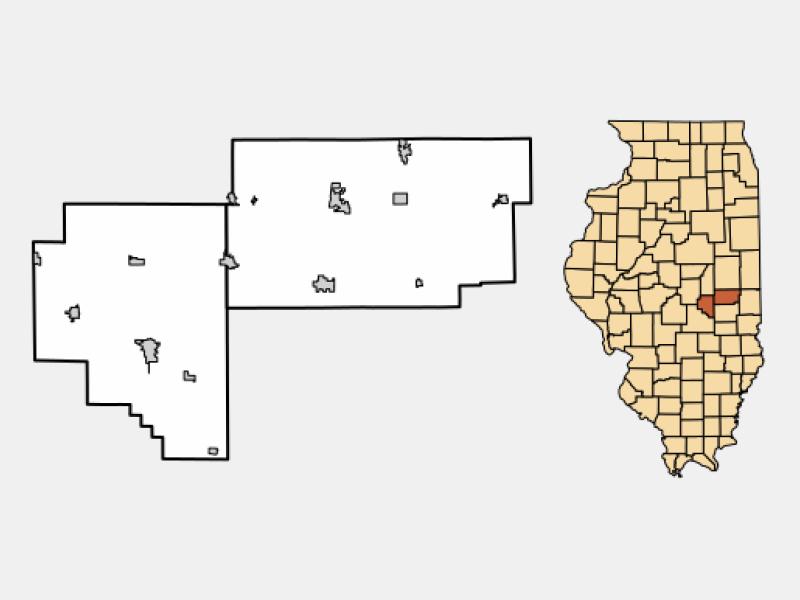 Arthur locator map