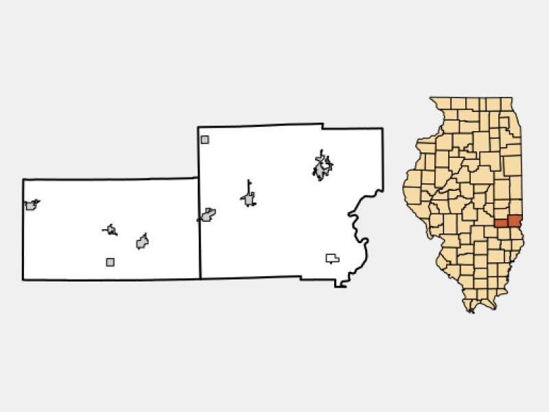 Casey locator map