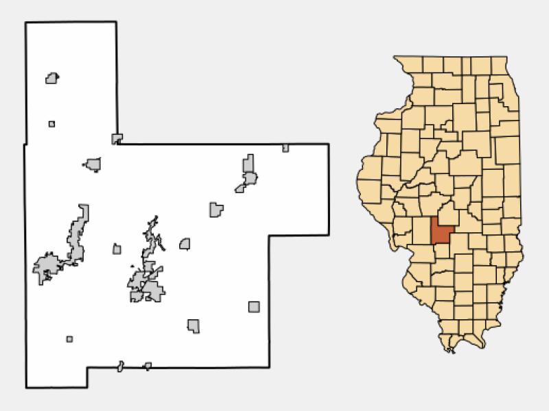 Coffeen location map