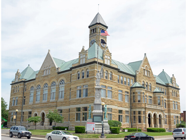 Coles County  IL  USA courthouse image