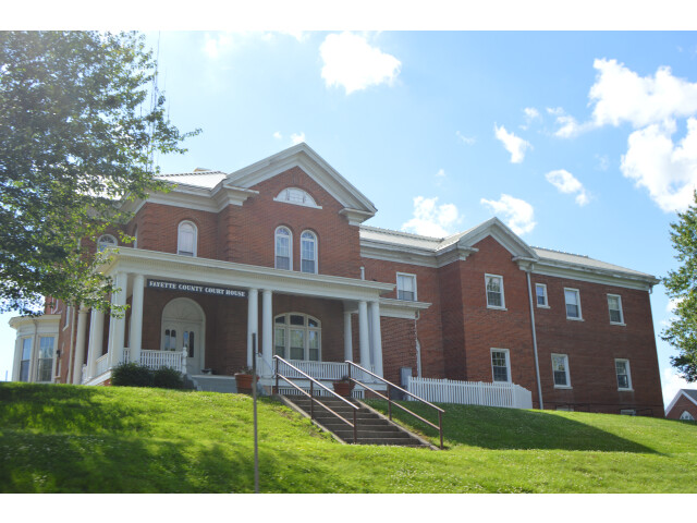 Fayette County Courthouse  Vandalia image