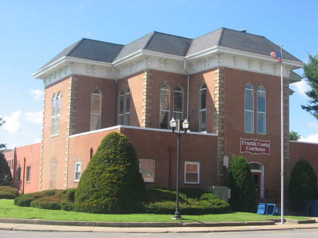 Franklin County Courthouse in Benton image
