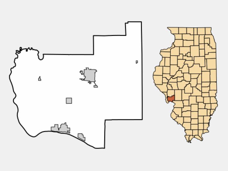Grafton locator map