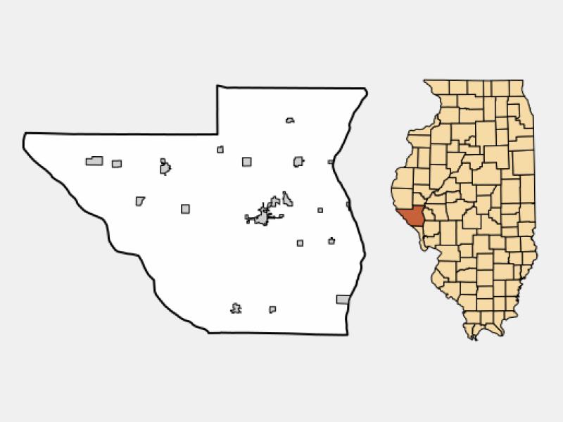 Griggsville location map