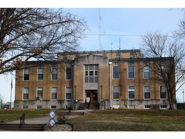 Hamilton County Courthouse IL 2019 image