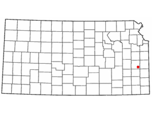 Kincaid location map