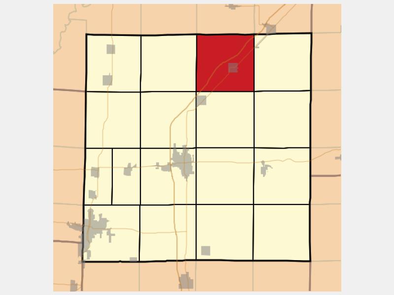 Kinmundy locator map