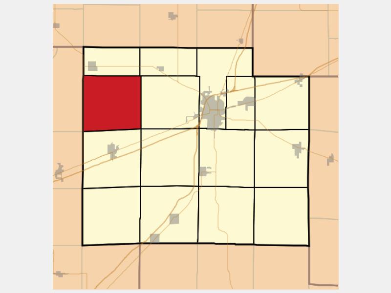 Moccasin locator map