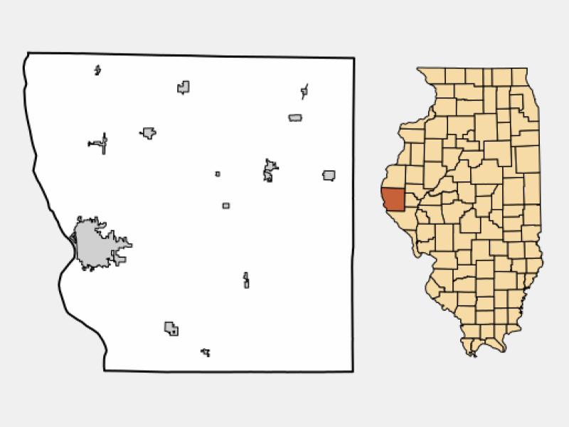 Quincy locator map