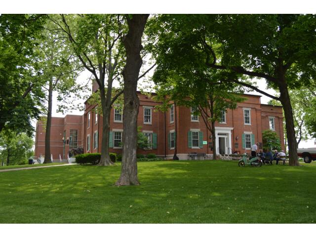 Monroe County Courthouse  Waterloo image