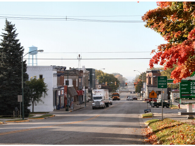 Albion-indiana-downtown image