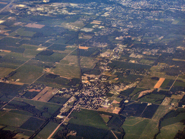 Centerville-indiana-from-above image