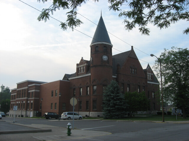 Fayette County Courthouse in Connersville image
