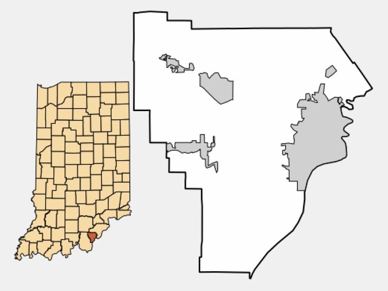 Galena locator map