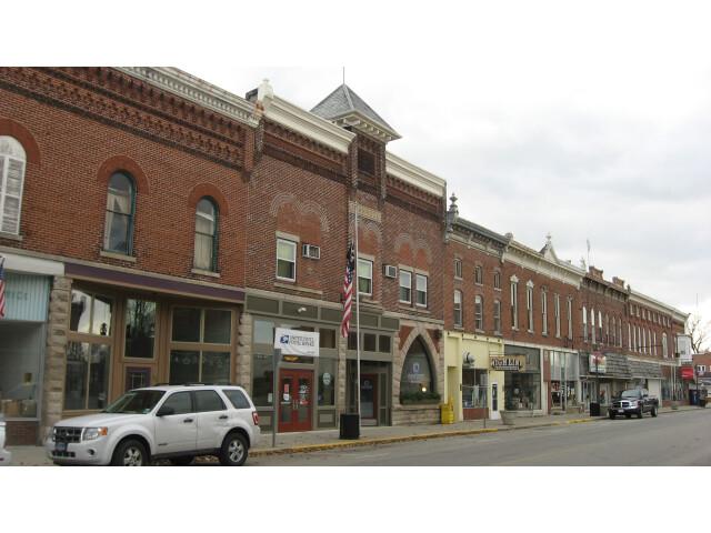 Downtown Geneva  Indiana image