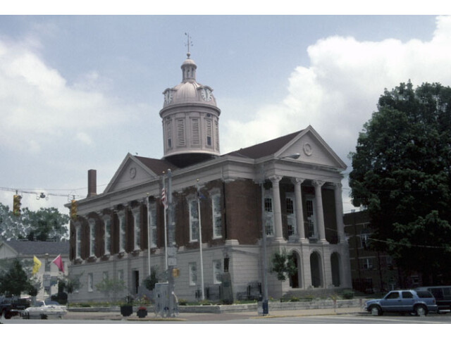 Jefferson County Indiana Courthouse image