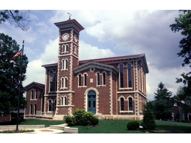 Jennings County Indiana courthouse image