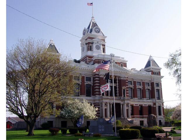 Johnson Indiana courthouse image