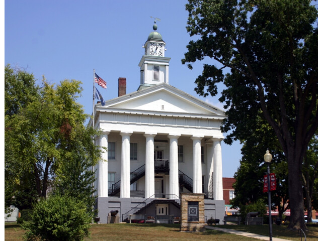 Orange county indiana courthouse 08 2007 image