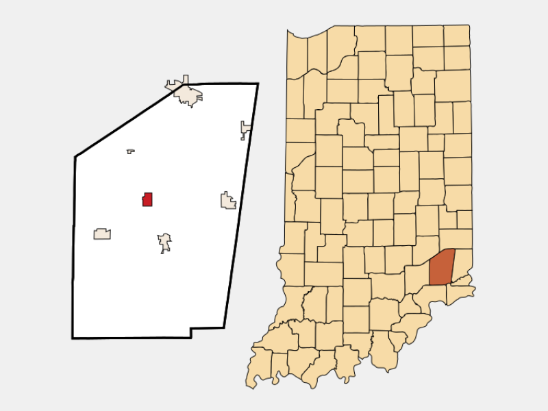 Osgood locator map