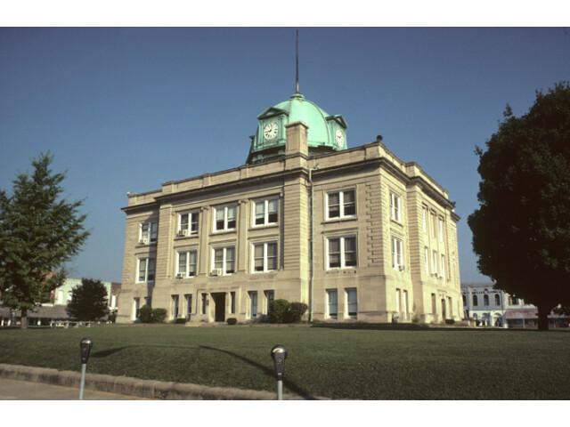 Owen County Indiana Courthouse image