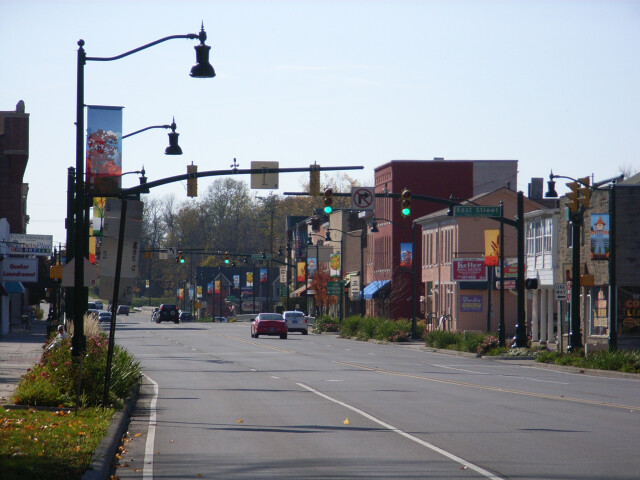 Downtown Plainfield Indiana image