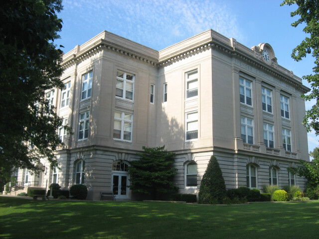 Spencer County Courthouse in Rockport image